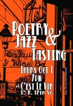 Poetry & Jazz Tasting October 2015