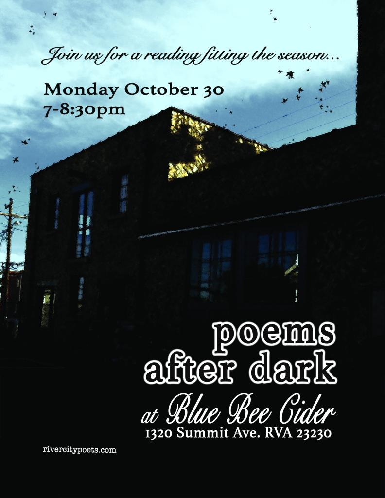 poems after dark october 2017
