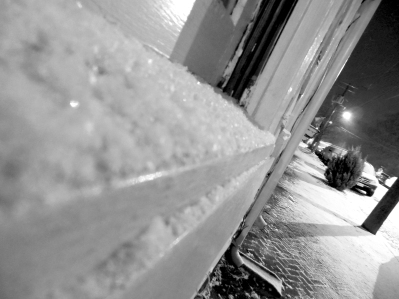 snow in richmond, angled.