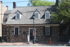 This is the Poe Museum.
